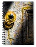 Her Glass Doorknob Spiral Notebook