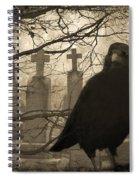 Her Graveyard Spiral Notebook