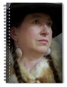 Her Hat And Fur Spiral Notebook