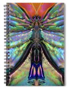 Her Heart Has Wings - Spiritual Art By Sharon Cummings Spiral Notebook