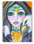 Her Journey Spiral Notebook