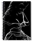 Her New Dress Spiral Notebook