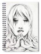 Her Prayers Spiral Notebook