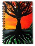 Her Roots Run Deep Spiral Notebook