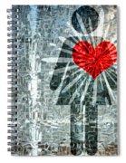 Her Strength Of Heart Spiral Notebook