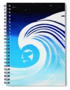 Her Wave Spiral Notebook