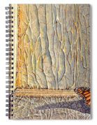 Her Wings Were Kissed By The Sun Spiral Notebook