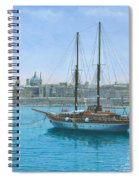 Hera 2 Valletta Malta Spiral Notebook