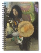 Heratige #1-young Traditional Dancer Spiral Notebook