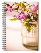 Herb Robert Posy Spiral Notebook