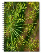 Herbal Abstract Spiral Notebook