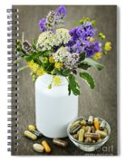 Herbal Medicine And Plants Spiral Notebook