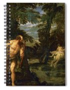 Hercules Deianira And The Centaur Nessus Spiral Notebook