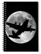 Hercules Moon Spiral Notebook