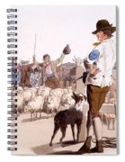 Herdsmen Of Sheep And Cattle, From The Spiral Notebook