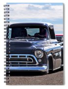 Here Come The Hot Rod Boys Spiral Notebook
