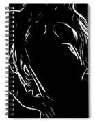 Here I Am Spiral Notebook
