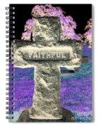 Here Lie The Faithful Spiral Notebook