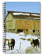 Hereford Barn Painting Spiral Notebook
