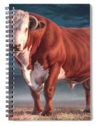 Hereford Bull Spiral Notebook