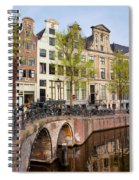 Herengracht Canal Houses In Amsterdam Spiral Notebook