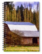 Heritage Remembered Spiral Notebook