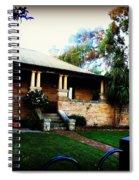 Heritage Sandstone House In Sydney Australia Spiral Notebook