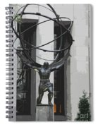 Herkules Abstract Nyc Spiral Notebook