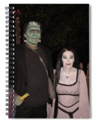 Herman And Lilly Munster Spiral Notebook