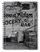 Herman Had It All Bw Spiral Notebook