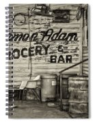 Herman Had It All - Sepia Spiral Notebook
