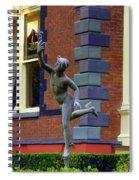 Hermes In The Garden Spiral Notebook