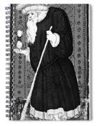 Hermit, 1430 Spiral Notebook
