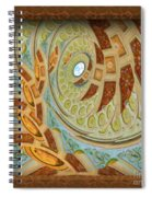 Hermitage Abstract Swirl  Spiral Notebook
