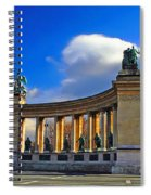 Heroes Square Spiral Notebook