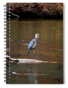 Heron Talking Spiral Notebook