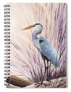 Herons Driftwood Home Spiral Notebook