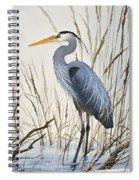 Herons Natural World Spiral Notebook