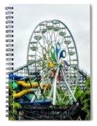 Hershey Park Ferris Wheel Spiral Notebook