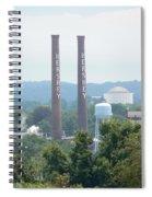 Hershey Smoke Stacks Spiral Notebook