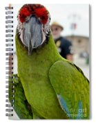 He's Behind Me Isn't He? Spiral Notebook