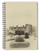 Hever Castle Yellow Plate 2 Spiral Notebook