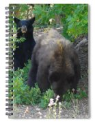 Hey Mom Save Some For Me  Spiral Notebook