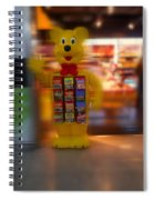 Hi Bear Spiral Notebook