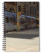 Hiawatha Line Light Rail Spiral Notebook