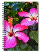 Hibiscus Flowers Spiral Notebook