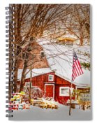 Hickory Lake Woodworks Spiral Notebook