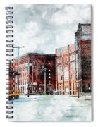 Hickory - Urban Building Row Spiral Notebook