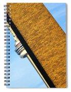 Hidden And Falling Spiral Notebook