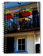 Hidden Away Balcony Spiral Notebook